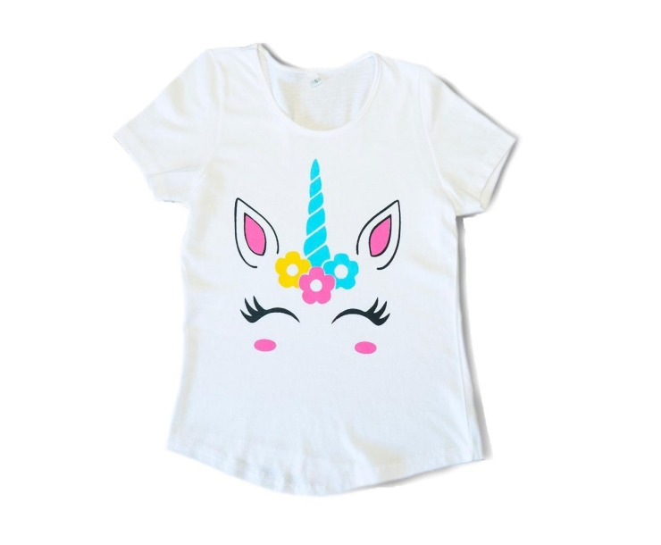 REMERAS ESTAMPADAS UNICORNIO